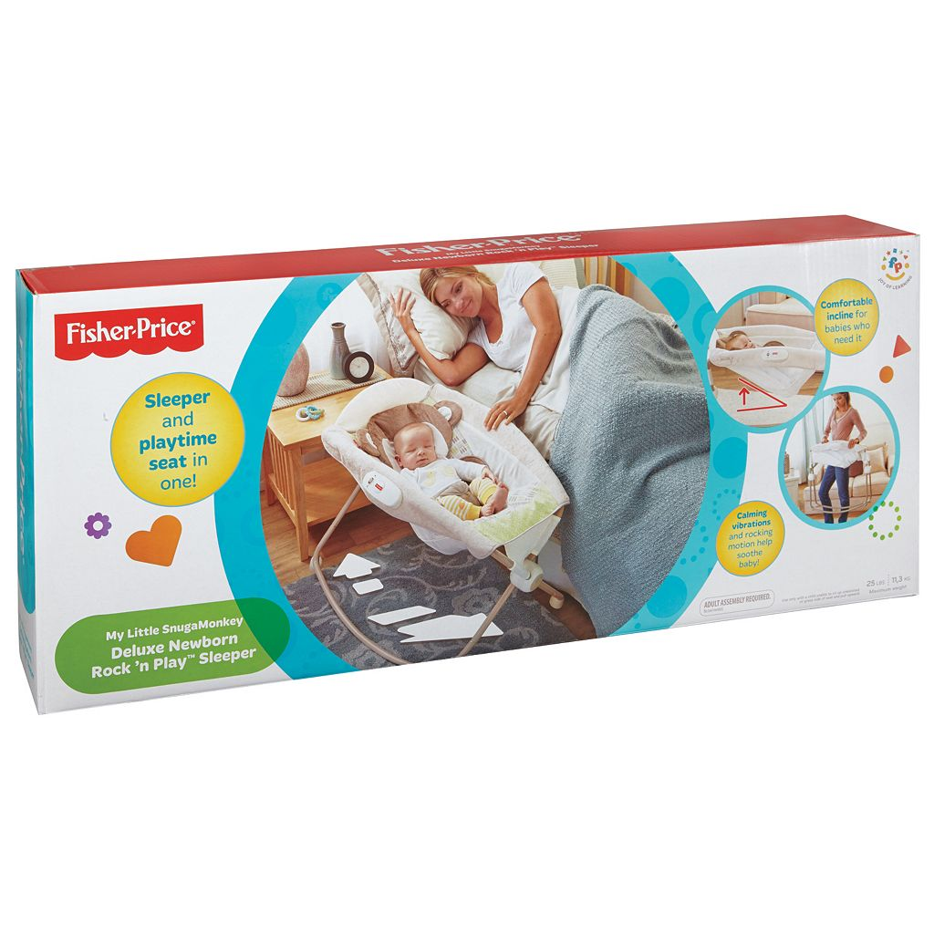Fisher-Price My Little Snugamonkey Deluxe Newborn Rock 'n Play Sleeper
