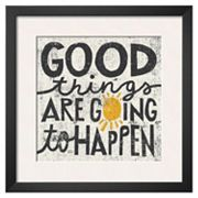 Art.com ''Good Things'' Framed Wall Art