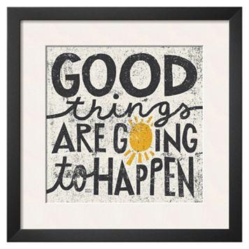 Art.com ''Good Things'' Framed Wall Art