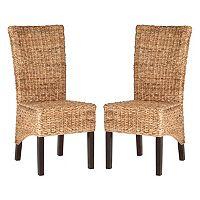 Safavieh Kiska Side Chair 2 pc Set