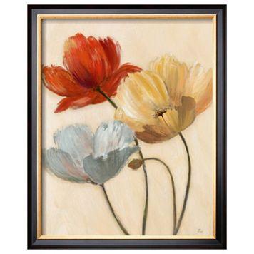 Art.com Poppy Palette II Framed Wall Art