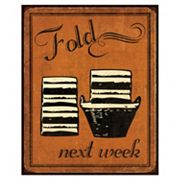 Art.com ''Fold'' Laundry Wall Art Print