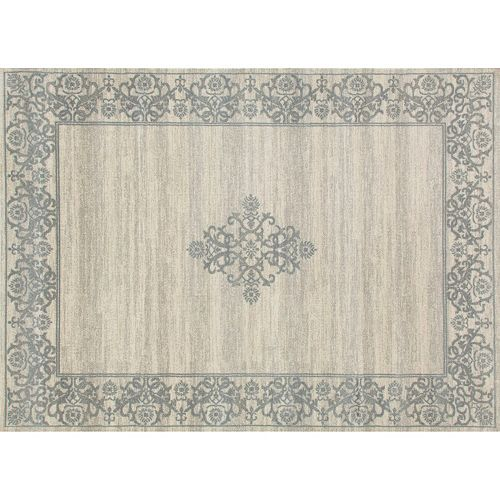 World Rug Gallery Avalon Framed Medallion Rug