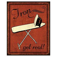Art.com ''Iron'' Laundry Wall Art Print