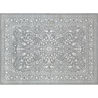 World Rug Gallery Avalon Framed Floral Rug