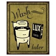 Art.com ''Wash'' Laundry Wall Art Print