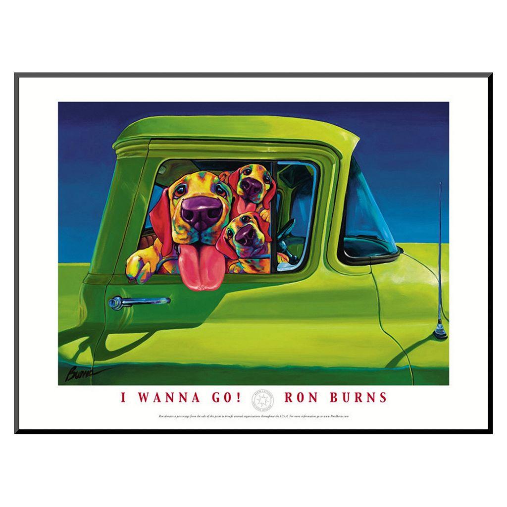Art.com ''I Wanna Go'' Framed Wall Art