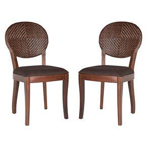Safavieh Prisco Side Chair 2-Piece Set
