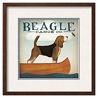 Art.com ''Beagle Canoe Co.'' Framed Wall Art