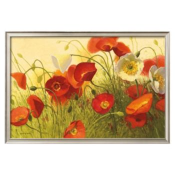 Art.com Havin' a Heat Wave Floral Framed Wall Art