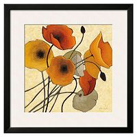 Art.com Pumpkin Poppies II Framed Wall Art