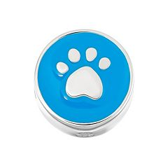 HSUS Sterling Silver Paw Print Bead