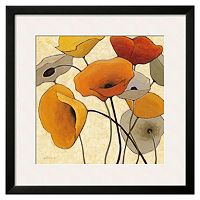 Art.com Pumpkin Poppies III Framed Wall Art