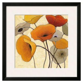 Art.com Pumpkin Poppies III Framed Wall Art