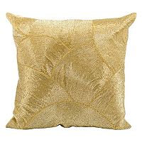 Mina Victory Fan Beaded Throw Pillow