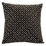 Mina Victory Bridal Geometric Beaded Throw Pillow