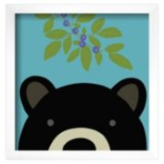 Art.com Peek-A-Boo Bear Framed Wall Art