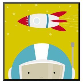 Art.com Peek-A-Boo Heroes Astronaut Wall Art Print