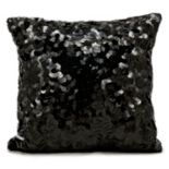 Michael Amini Circle Sequin Throw Pillow