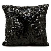 Michael Amini Circle Sequin Throw Pillow