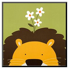 Art.com Peek-A-Boo IX Lion Wall Art Print