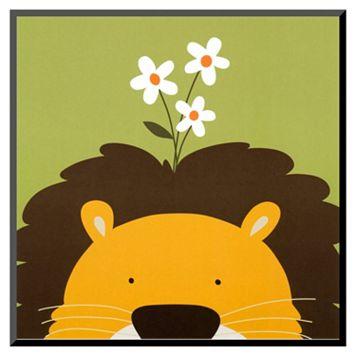 Art.com Peek-A-Boo IX Lion Wall Art Print