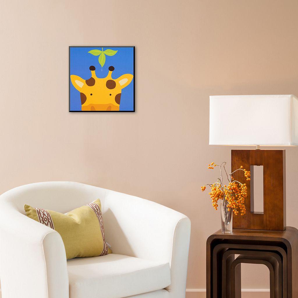 Art.com Peek-A-Boo VII Giraffe Wall Art Print