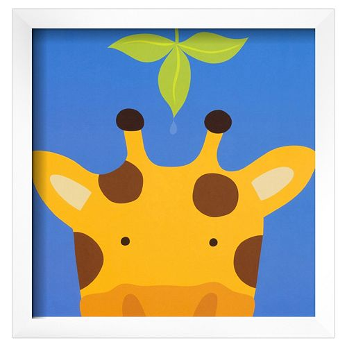 Art.com Peek-A-Boo VII Giraffe Framed Wall Art
