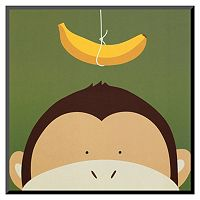 Art.com Peek-A-Boo X Monkey Wall Art Print