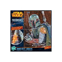 Star Wars Photomosaics 1000 pc Boba Fett Puzzle