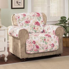 Innovative Textile Solutions English Floral Chair Protector