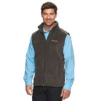 Big & Tall Columbia Flattop Ridge Colorblock Fleece Vest