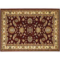 Couristan Anatolia Floral Heriz Framed Rug