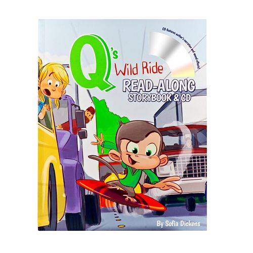 Q's Wild Ride Read Along Storybook