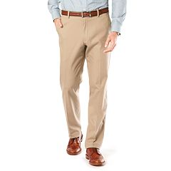 Men's Dockers® Stretch Signature Khaki Athletic-Fit Flat-Front Pants