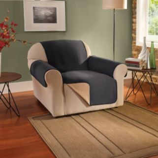 Innovative Textile Solutions Waterproof Reversible Fleece Chair Protector