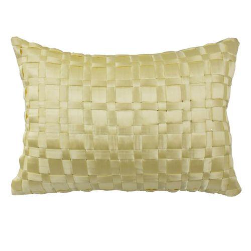 Waverly Floral Engagement Satin Throw Pillow
