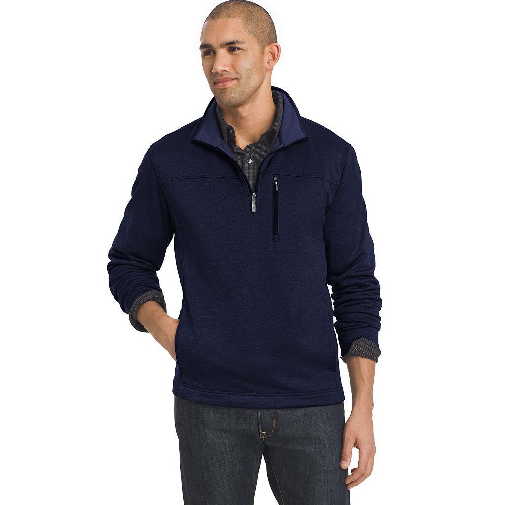 Men's Van Heusen Traveler Classic-Fit Quarter-Zip Pullover
