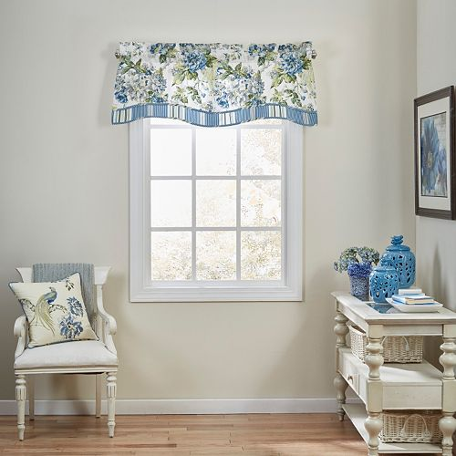 Waverly Floral Engagement Window Valance - 52'' x 18''