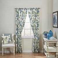 Waverly Floral Engagement Window Curtain Set - 50'' x 84''