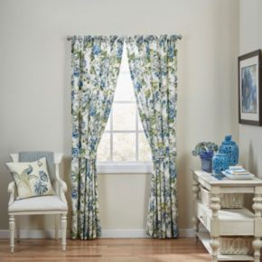 Waverly 2-pack Floral Engagement Window Curtains - 50'' x 84''