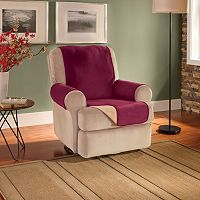 Innovative Textile Solutions Waterproof Reversible Fleece Recliner Wing Chair Protector