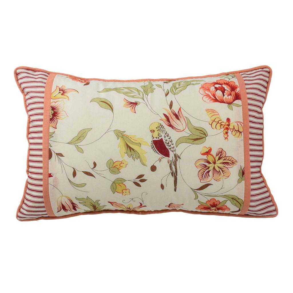 Waverly Retweet Oblong Throw Pillow