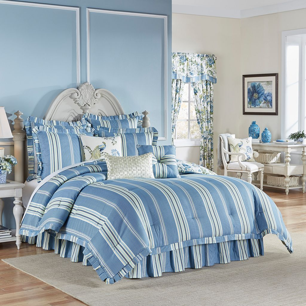 Waverly Floral Engagement 4-piece Bed Set