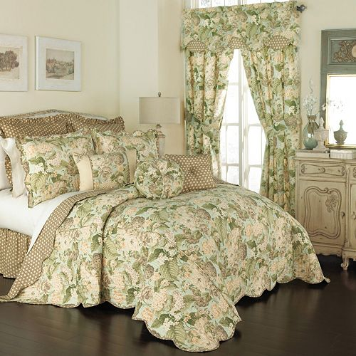 Waverly Garden Glory 3 Piece Bedspread Set