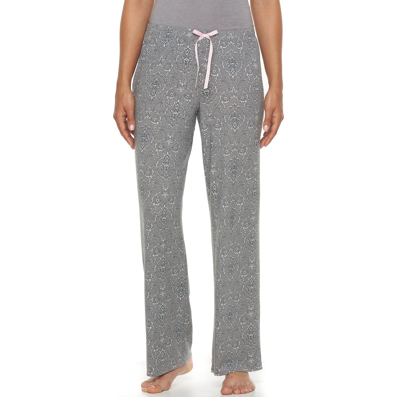 Womens Apt. 9? Pajamas: Scroll PJ Pants