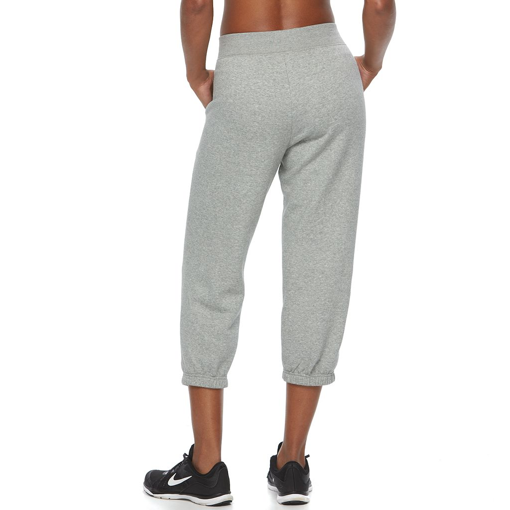 Women's Nike Fleece Capri Jogger Pants