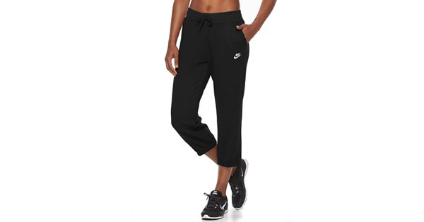 Women S Nike Fleece Capri Jogger Pants