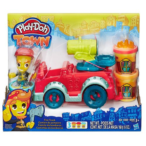 Play Doh Town Fire Truck Set