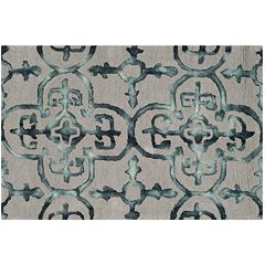 Safavieh Creedence Quatrefoil Dip-Dyed Wool Rug